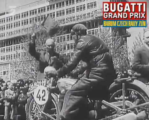 Zlínská osma – Bugatti Grand Prix Zlín